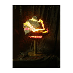 Rhombus Lamp (red/yellow))