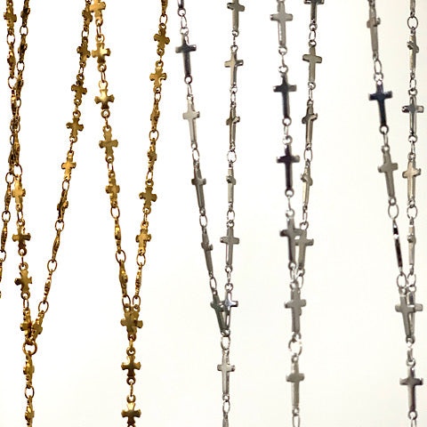 Chic Cross Rosary