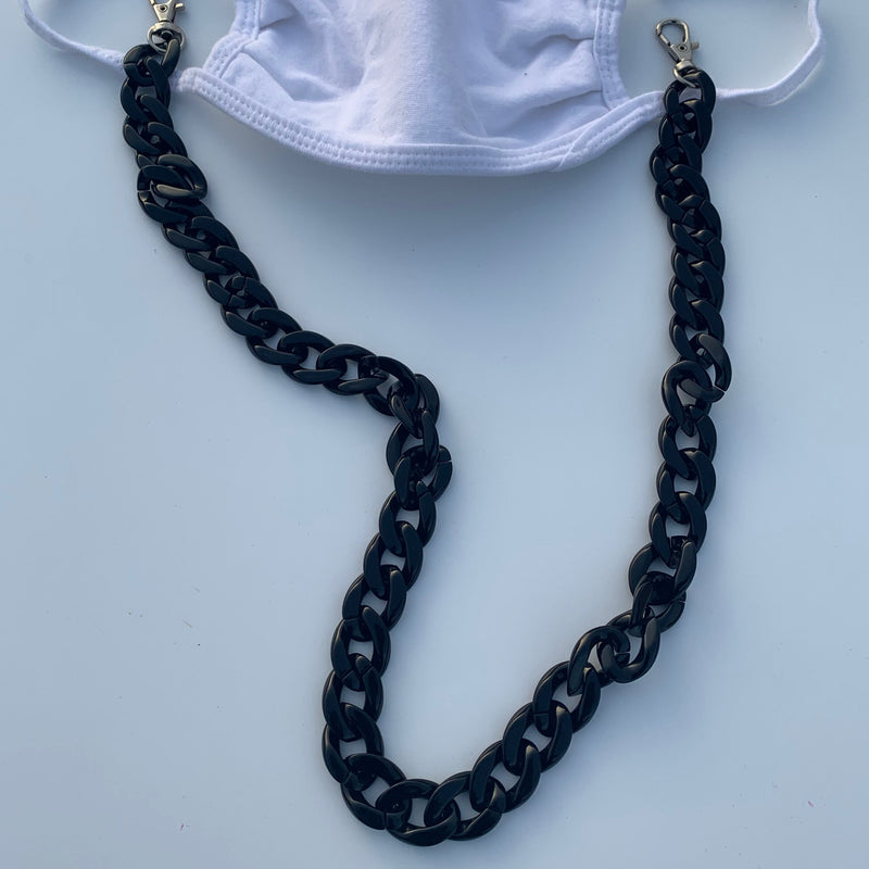 Convertible Chunky Acrylic Face Mask Chain (3 ways)