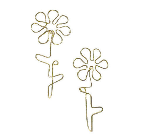 Flower Power Clip Earring