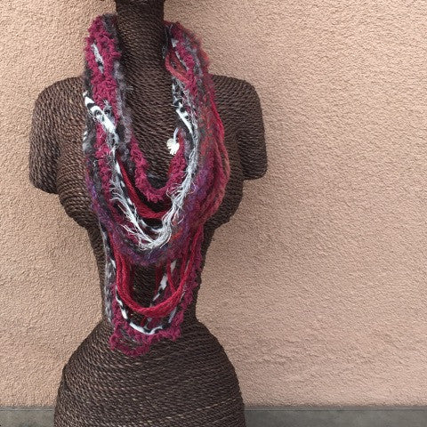 Top Scarf Necklace
