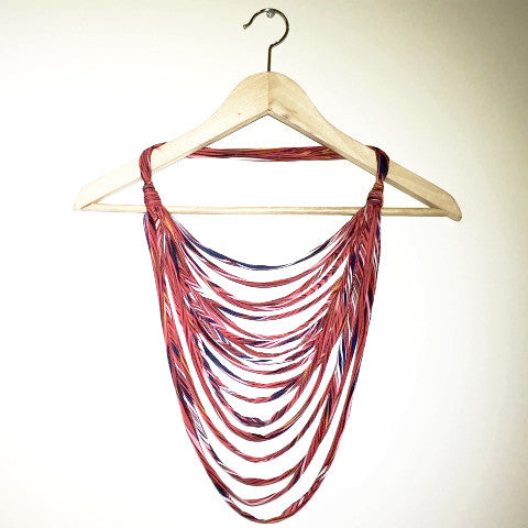 Fabric Boho Necklace (long)