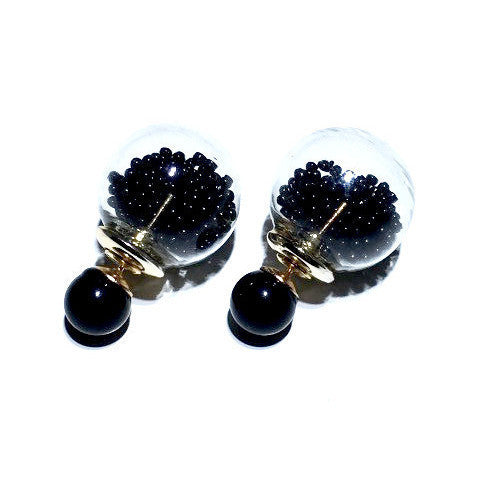 Bottle it Up Double Sided Earrings