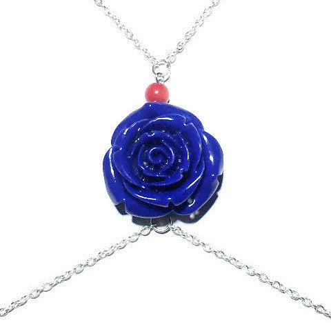 Bohemian Rose Silver Body Chain