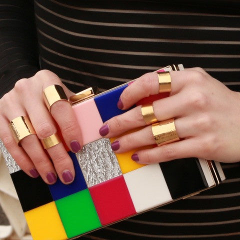 Adjustable Midi Knuckle Gold Ring