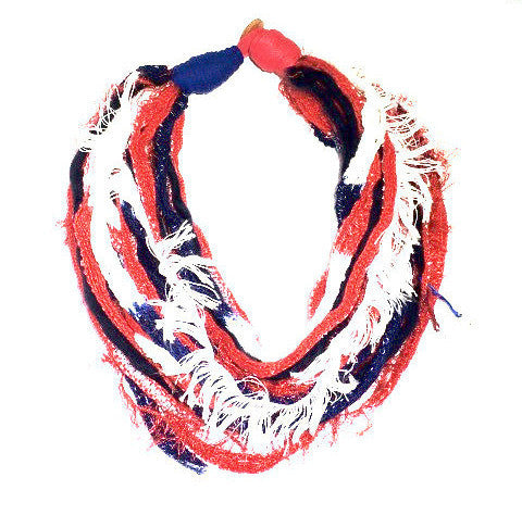 Viva! Scarf Necklace