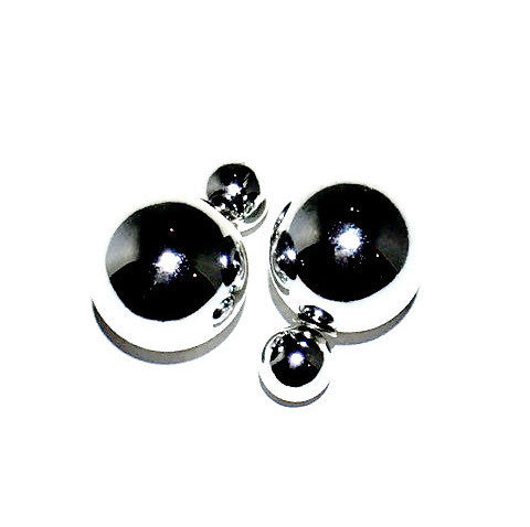 Chic Double Sided Stud Earrings