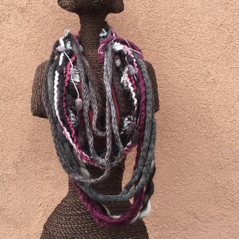 Fancy Scarf Necklace