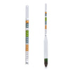 Brew Tapper Triple Scale Hydrometer with Plastic Test Tube Combo