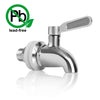 Solid Stainless Steel Beverage Dispenser Replacement Spigot