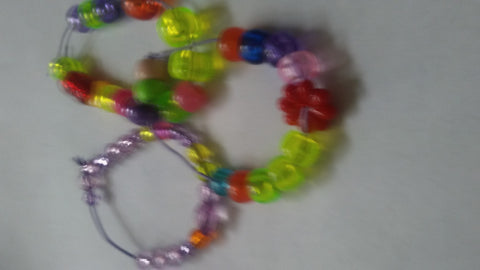 Child's Beaded Anklets (3 pack)