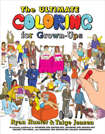 The Ultimate Coloring Books for Grown ups