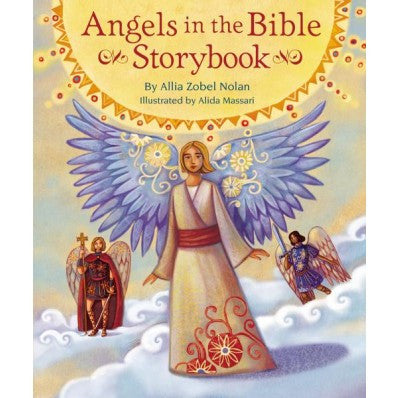 Angels in the Bible Story Book