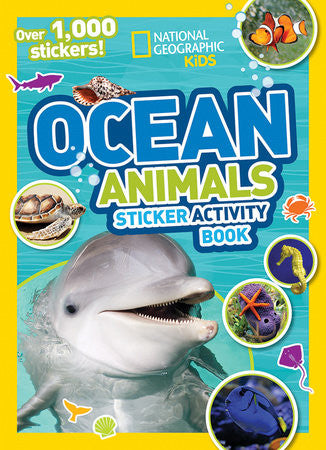 Ocean Animals Sticker Activity Book