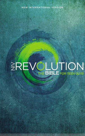 NIV, Revolution Bible, Hardcover: The Bible for Teen Guys