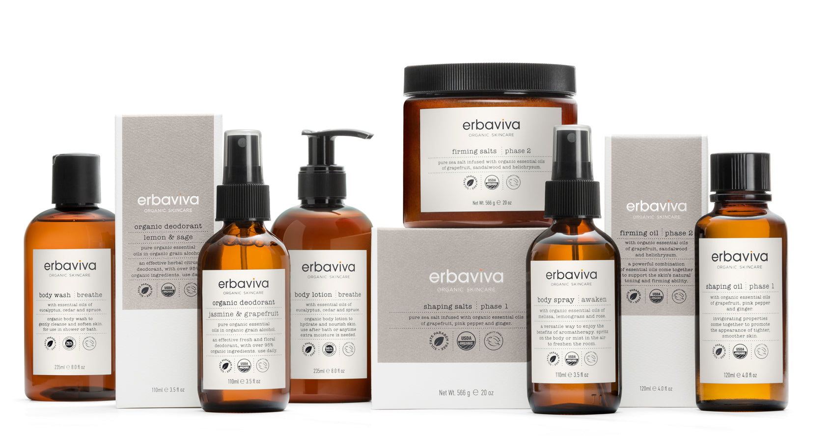 Celebrating 20 Years Of Organic With A New Look Erbaviva