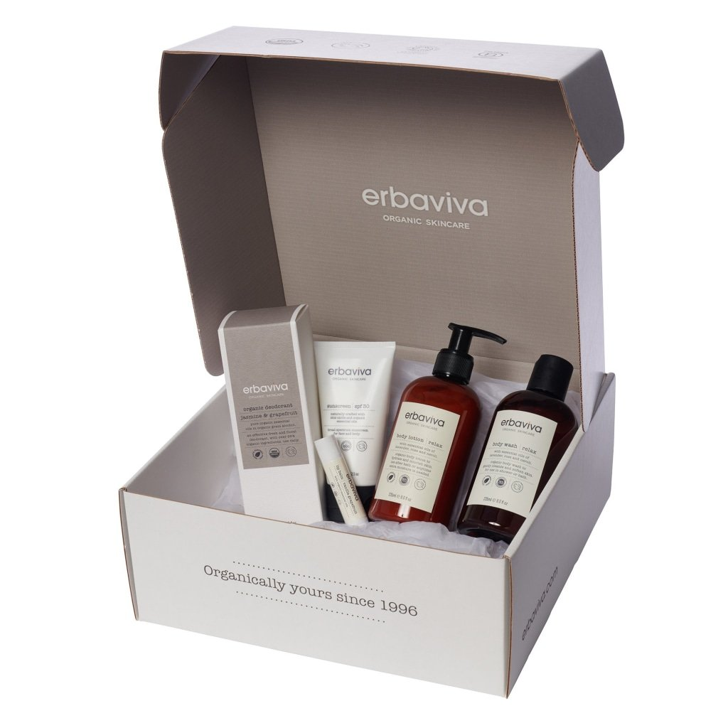 RELAX Everyday Essentials Bundle - Body Care
