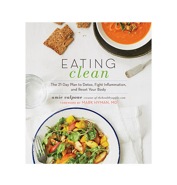 eating clean by amie valpone - none