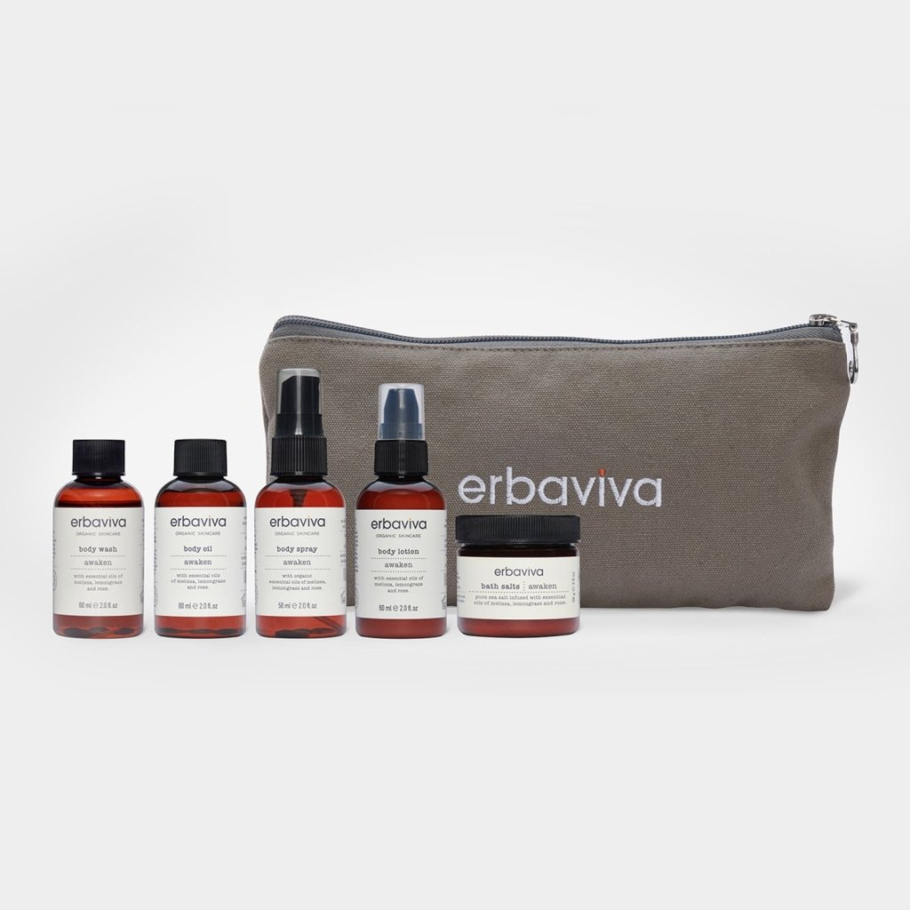 organic travel essentials kit - awaken - Body Care