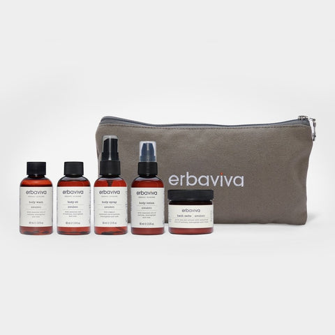 organic travel essentials kit - awaken