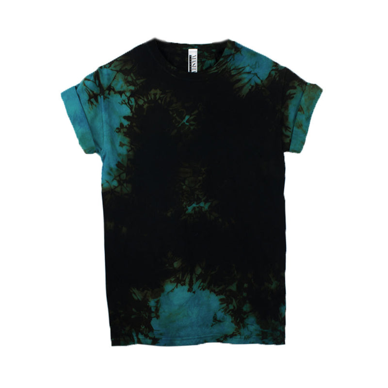 Rock and Roll Blue T-shirt Tie Dye T-Shirt - Masha Apparel