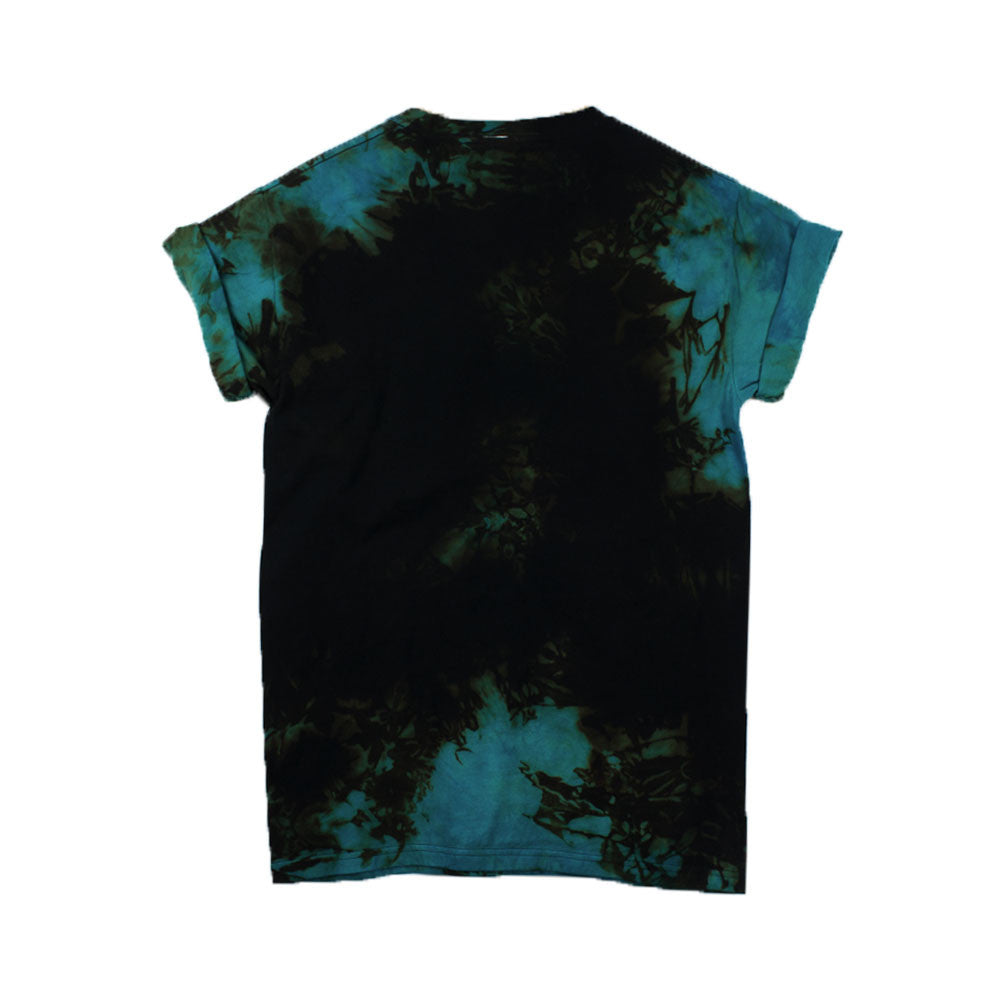 Rock and Roll Blue T-shirt Tie Dye T-Shirt
