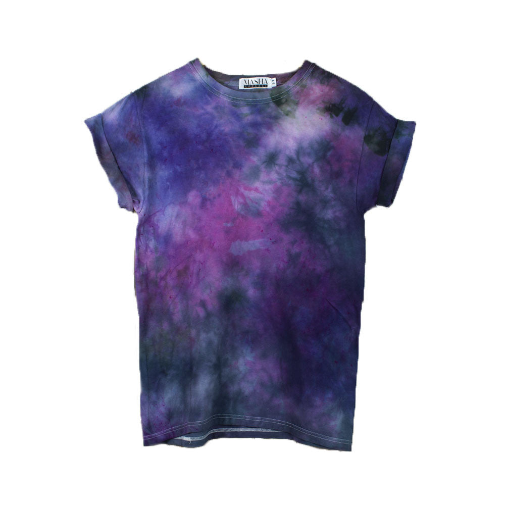 New Buy Black Purple Tie Dye T-Shirt at Masha Apparel for only $29.00 PT42