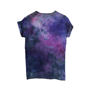Black Purple Tie Dye T-Shirt - Masha Apparel