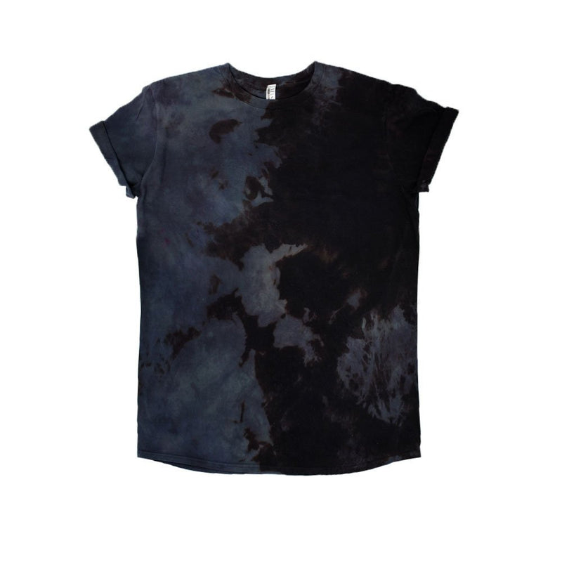 Black Acid Tie Dye Tee - Masha Apparel