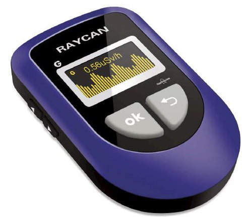 Model XL-RPAV Personal Radiation Dosimeter