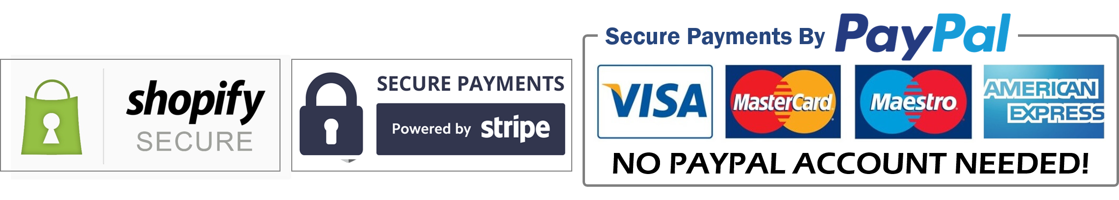 Shopify Secure Payment - Click to Verify