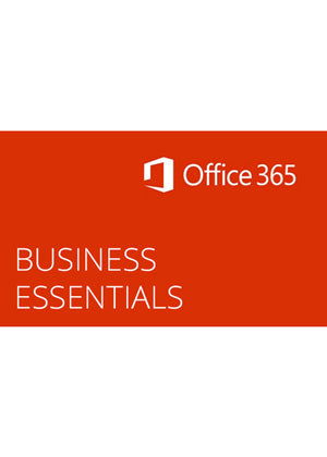 Microsoft Office 365 Business Essentials 1 Year with Support