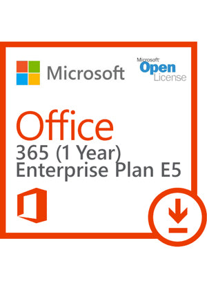 Microsoft Office 365 (Plan E5) - 1 Year Subscription