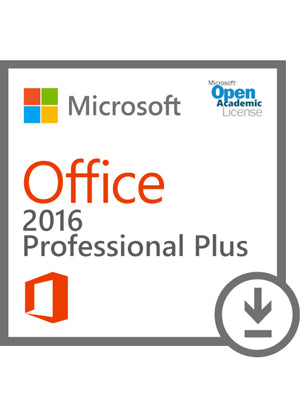 Microsoft Office Professional Plus 2016 - Open Academic