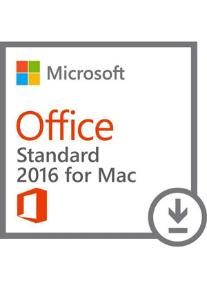 Microsoft Office 2016 For Mac Standard Open Academic