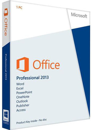 Microsoft Office Professional 2013, 1 PC, License