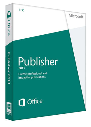 Microsoft Publisher 2013 - License - Enterprises Software Solutions