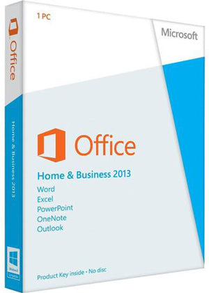 Microsoft Office Home And Business 2013 | Commercial use | Retail box for PC - Enterprises Software Solutions