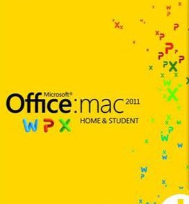 Microsoft Office Mac Home And Student 2011 Family Pack 3 Users License