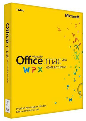 Microsoft Office For Mac Home & Student 2011 Spanish License Download - Enterprises Software Solutions