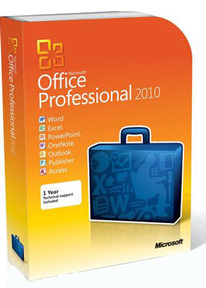 Microsoft Office 2010 Professional AE - License
