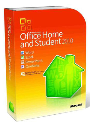 Microsoft Office Home & Student 2010 1 PC International License