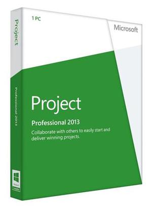 Microsoft Project 2013 Professional 32/64 Bit License