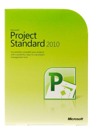 Microsoft Project 2010 Standard - License