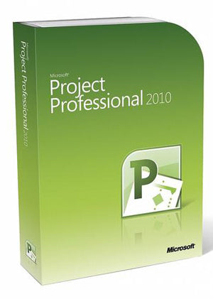 Microsoft Project 2010 Professional License PC