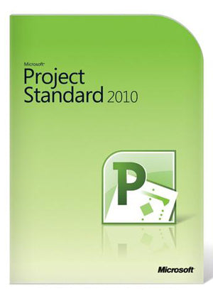 Microsoft Project Standard 2010 License English
