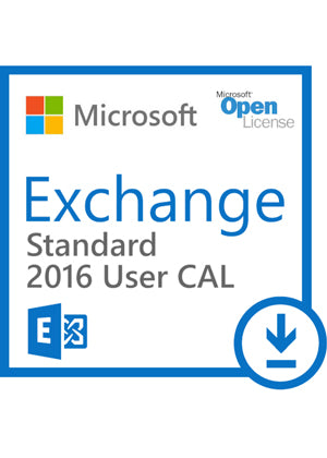 Microsoft Exchange 2016 Standard User CAL - Open License