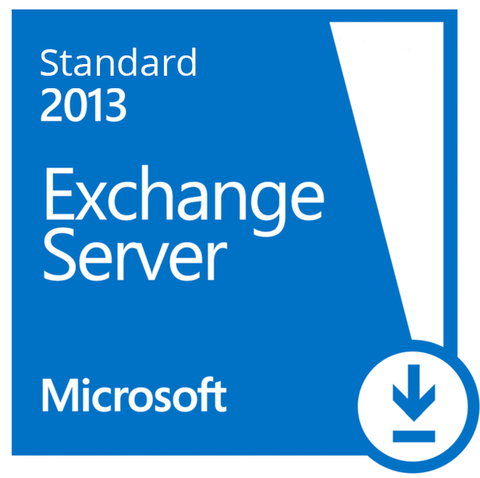 Microsoft Exchange Server 2013 Standard License + 5 CAL's