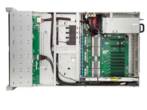 HP DL580 Gen9 1*E7-4820v, 4/2*16G DDR4-2133/1 memory board/P830i(2G)/NC331/2*1200W PT - Enterprises Software Solutions