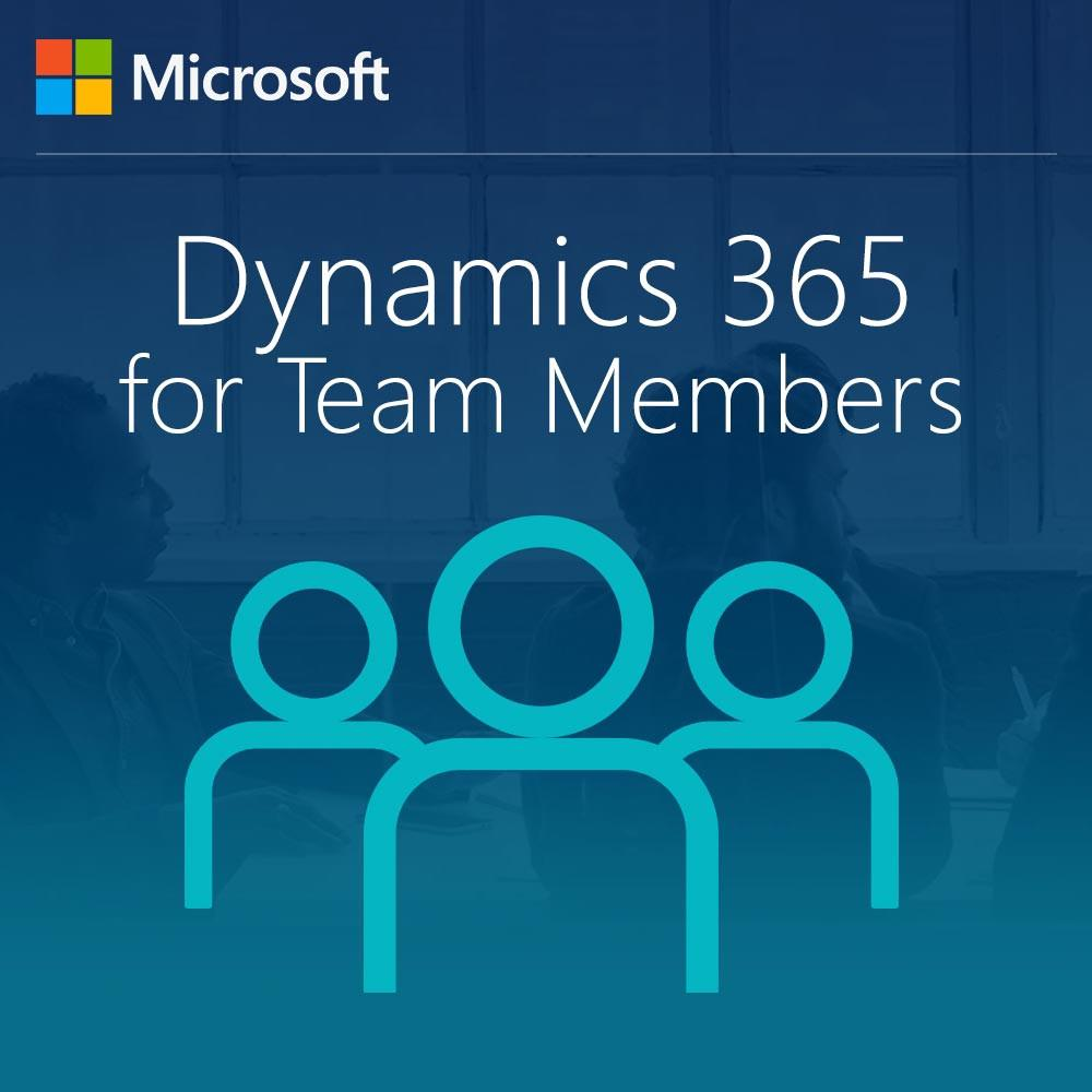 Dynamics 365 for Team Members, Enterprise Edition - From SA From Team Members (On-Premises) User/Device CAL - Enterprises Software Solutions
